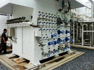 How Lecten install the Cryogenic Oxygen Plant