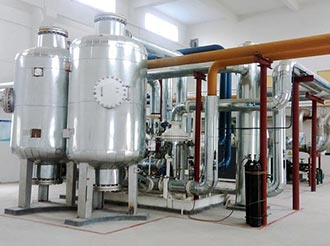 How does the Cryogenic Oxygen Plant works